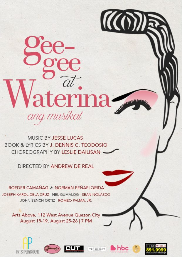 2 - GEE-GEE AT WATERINA --- FINAL POSTER